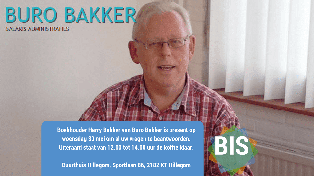 Bedrijven Inloop Spreekuur weer succes met Buro Bakker