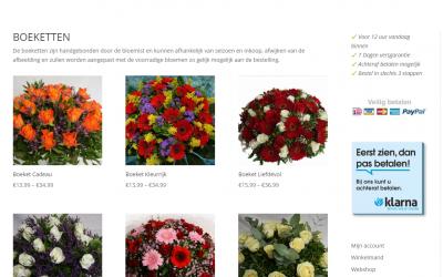 Bloemenwinkel (webshop) Hoofddorp Fleuriande update gekregen