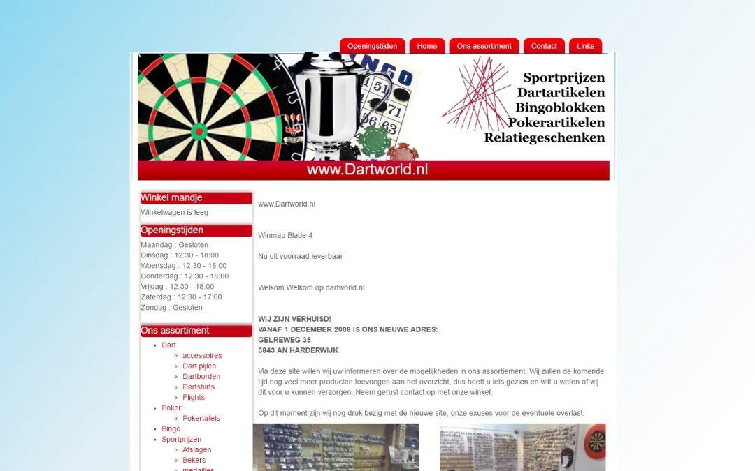 WordPress Werkzaamheden: Joomla > WordPress migratie Dartworld.nl