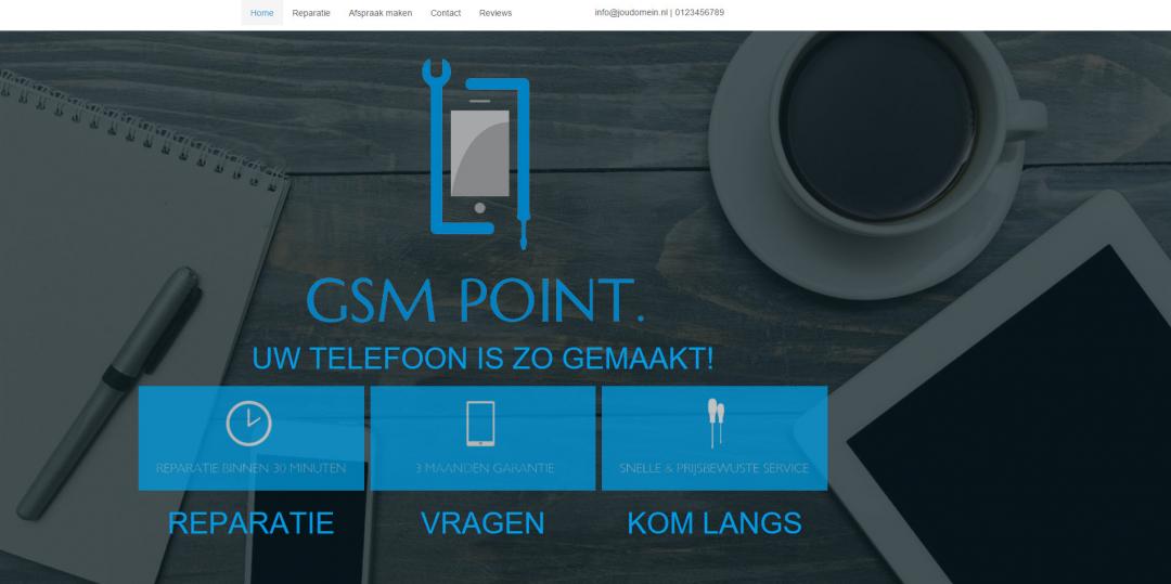 Webdesign: GSM Point V2