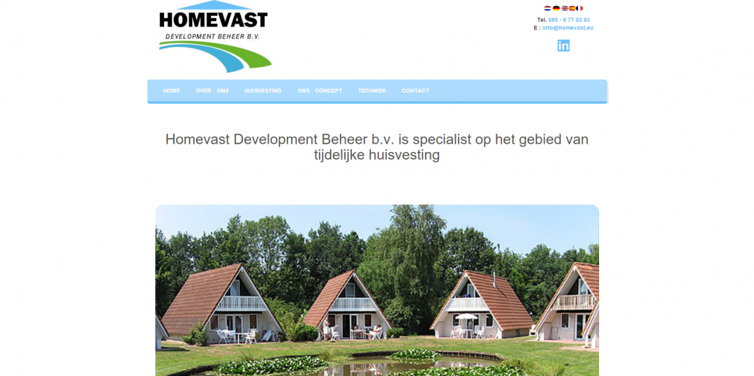 Webdesign: Homevast