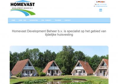 Webdesign: Homevast
