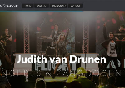 Webdesign: Judith van Drunen v2