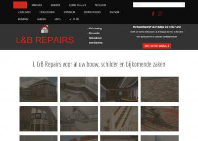 Website: L&B Repairs bv in Belgie