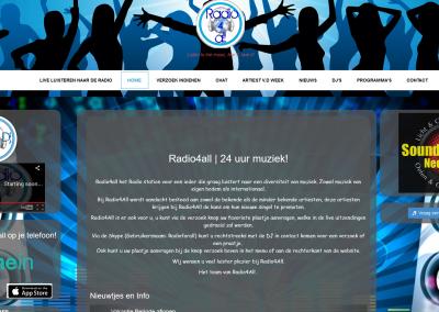 Webdesign: Radio 4 All