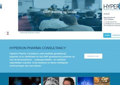 WordPress Werkzaamheden: Hyperion Consultancy beveiliging