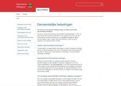 WordPress Werkzaamheden – SSL Beveiliging – Gemeente belasting