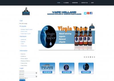 Webshop Vape Holland