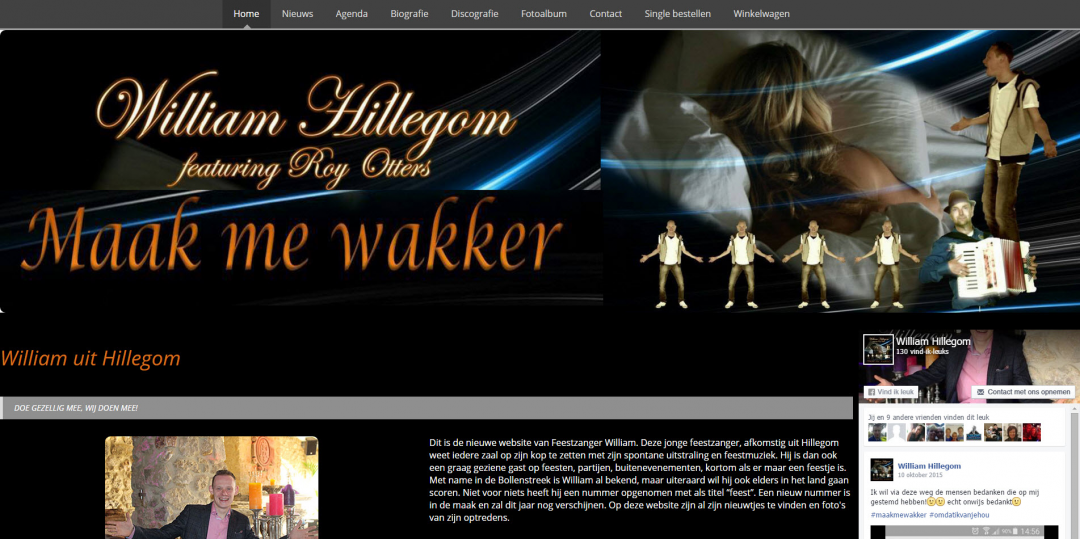 Webdesign: William Hillegom