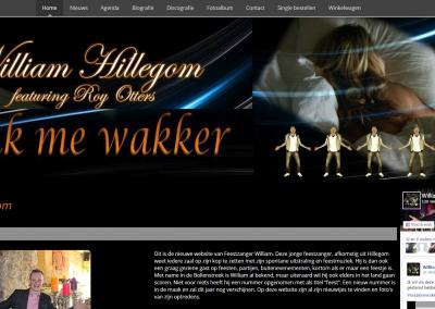 Webdesign: William Hillegom