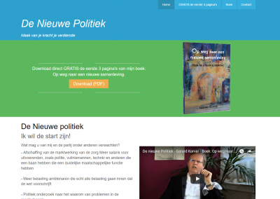 Webdesign: De nieuwe politiek