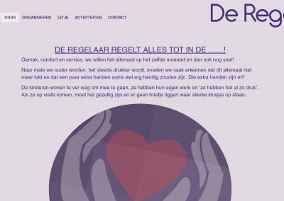 Webdesign: De Regelaar