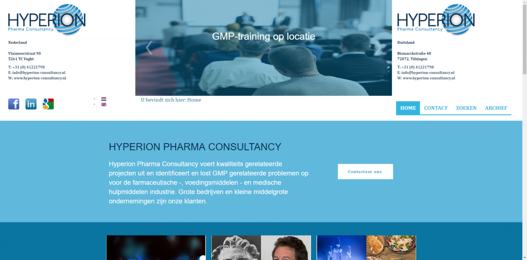 Webdesign: Hyperion Consultancy