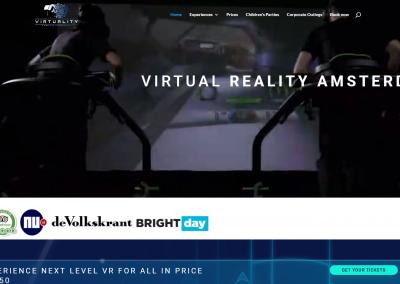 Webdesign: VR Amsterdam