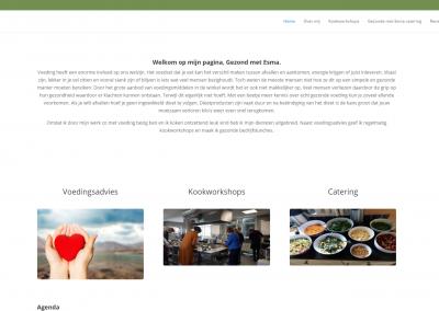 Webdesign: Gezondmetesma.nl