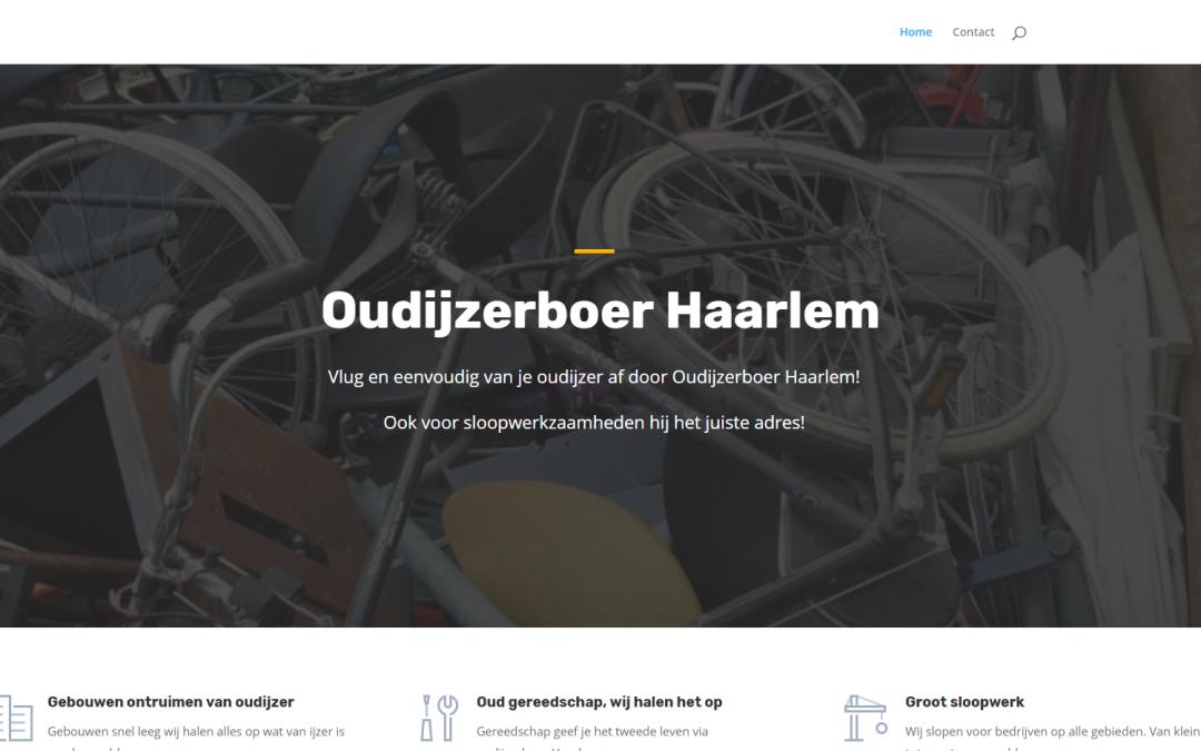 Webdesign: Oudijzerboer Haarlem